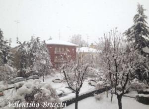 Parma neve (23) febbraio 2015