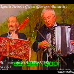 TELETAC Berceto (10) Parè (Agnetti Pietro) e Gianni (Giovanni Becchetti)