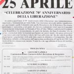 70° Liberazione-Borgotaro locandina