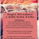 Brunelli Festa salame torta d'erbe