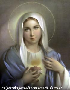 Cuore Immacolato Beata Vergine Maria