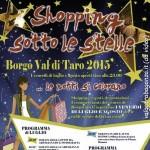 Shopping sotto le stelle Borgotaro