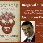 Aperitivo letterario con Gino Saladini