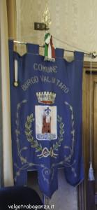 Gonfalone del Comune di Borgo Val di Taro (1)