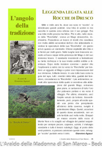 Rocche di Drusco (101) leggenda