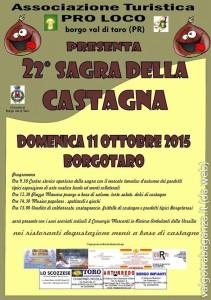 Festa Castagna Borgotaro 2015
