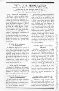 San Moderanno (110) Vita testo