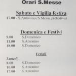Avvisi Parrocchia Sant'Antonino Borgotaro