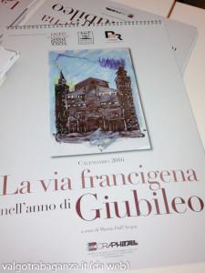 Calendario La Via Francigena nell'anno di Giubileo