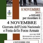 Celebrazione  IV Novembre Ghiare Berceto