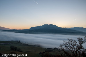 Bardi (102) nebbia