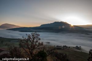 Bardi (170) nebbia