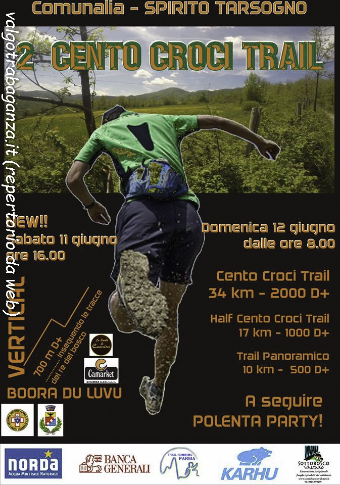 Cento Croci Trail Tarsogno 1