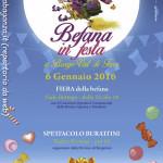 Epifania 2016 Fiera e burattini Borgotaro