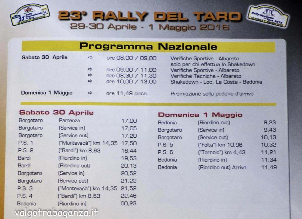 Rally Taro 2016 (106) nazionale programma