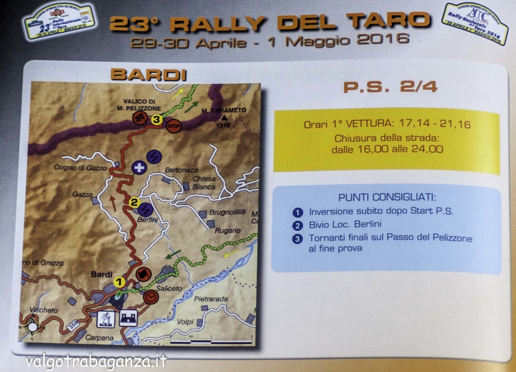 Rally Taro 2016 (107) Bardi cartina