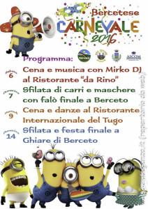Berceto Carnevale 2016