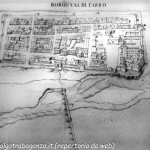 Mappa di Borgotaro del '600