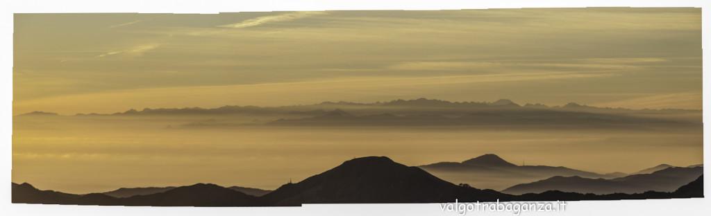 Monte Gottero (102) Panoramica arco costiero