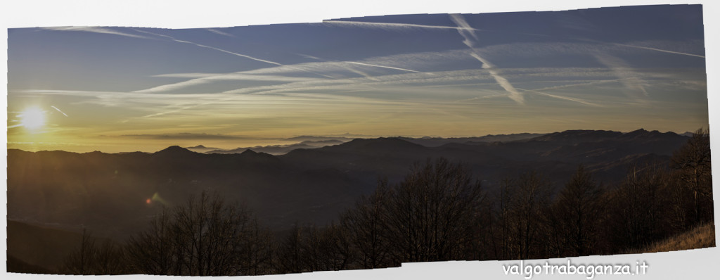 Monte Gottero (103) Panoramica Appennino Ligure