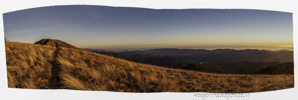 Monte Gottero (104) Panoramica crinale