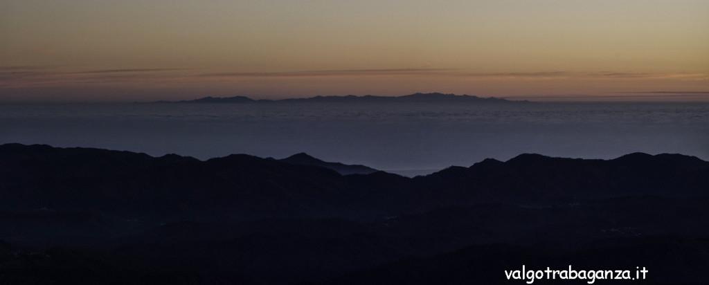 Monte Gottero (107) Panoramica Corsica