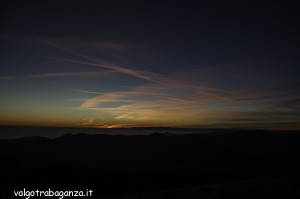 Monte Gottero (314) Tramonto