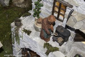 Presepe rurale  contadino (160) Angelo Pavesi