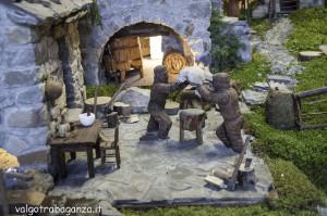 Presepe rurale  contadino (225) Angelo Pavesi