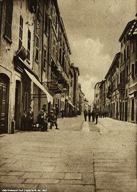 Via Nazionale, un tempo Via Vittorio Emmanuele II°