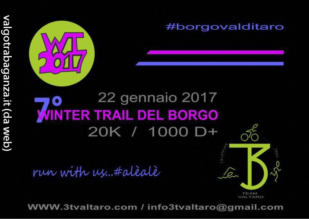 WINTER TRAIL Borgotaro 1