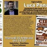 CIBO CRIMINALE Libro Luca Ponzi (2)