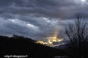 Fasci luce (101) tramonto