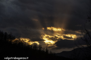 Fasci luce (128) tramonto
