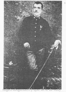 Luigi Lucheni in divisa militare