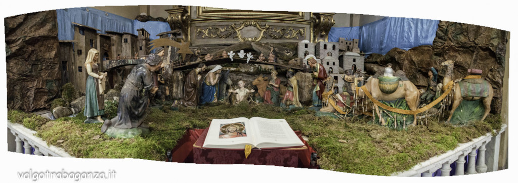 Re Magi (101) Presepe Panoramica