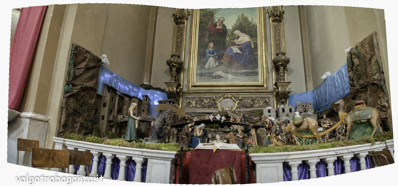 Borgotaro Pr Natale 2015 I Re Magi Nel Presepe Della Chiesa Di