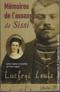 copertina del libro di memorie di Luigi Lucheni