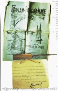 giornale Lucheni apprende presenza Sissi a Ginevra