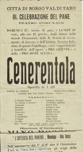 operetta Cenerentola Borgotaro
