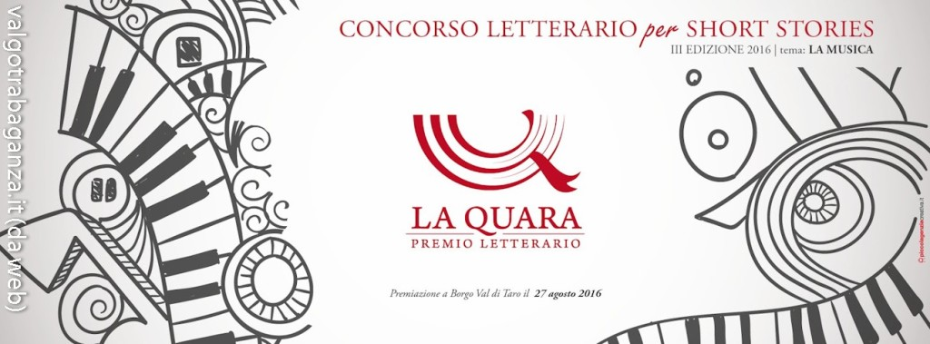 3° Premio La Quara 2016 Borgotaro