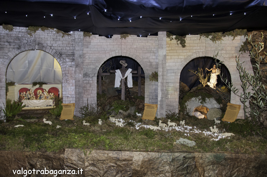 Diorama Pasquale (143) Presepio di Pasqua