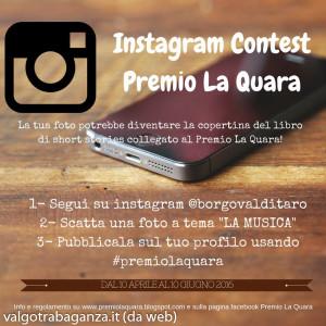 contest instagram Premio La Quara 2016 Borgotaro