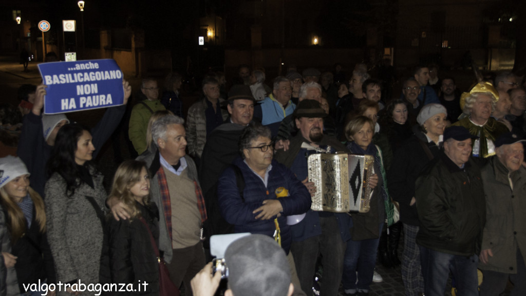 Luigi Alfieri (174) Parma non ha paura camminata