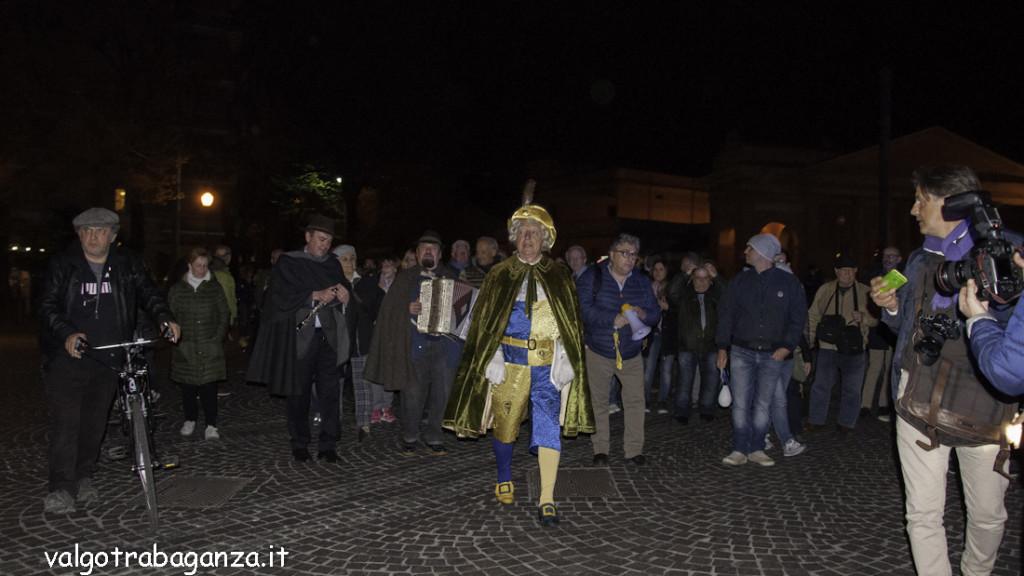 Luigi Alfieri (216) Parma non ha paura camminata