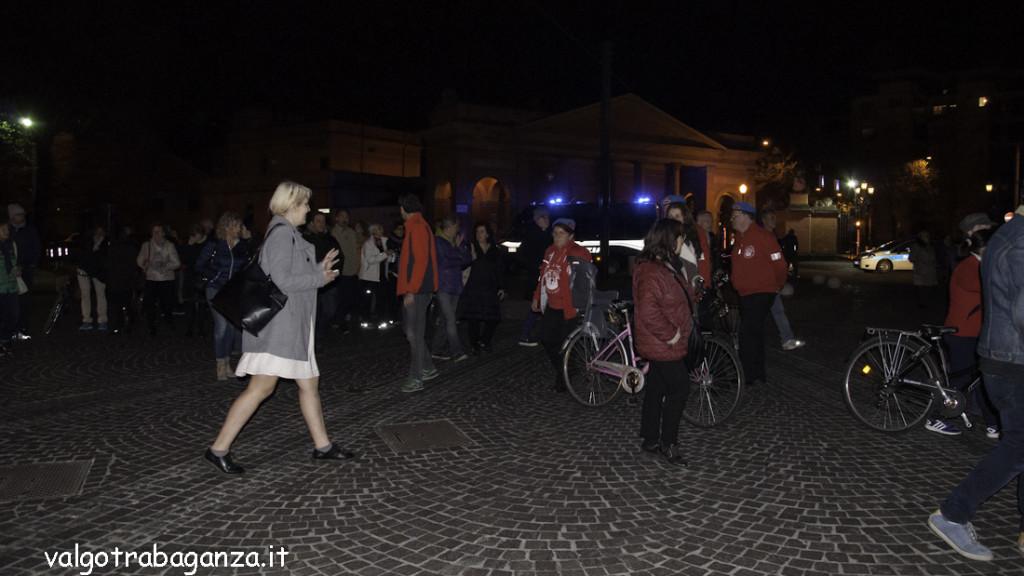 Luigi Alfieri (228) Parma non ha paura camminata