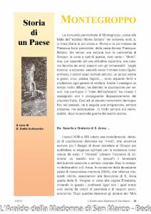 Montegroppo (101) Storia