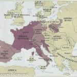 cartina 1806 Impero francese