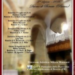 2° Rassegna AD LIBITUM Musiche d'organo  Via Francigena Berceto