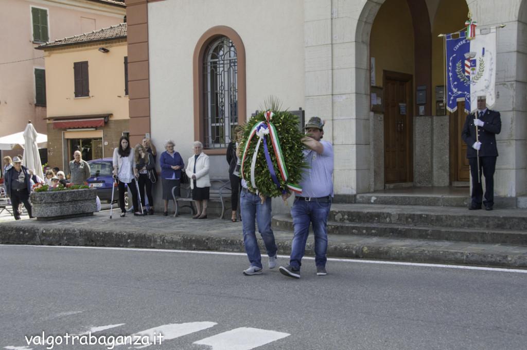 70° Ricostruzione  Albareto (695) Commemorazione
